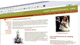 Achill Island Flowers web site, created by Digital Acla