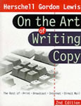 cover of book 'Herschell Gordon Lewis on the Art of Writing Copy'